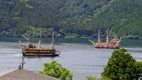Корабль путешествия в озере Стоковое фото RF
