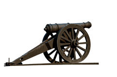 корабль пушки старый Стоковое Изображение