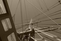 корабль рангоута высокорослый Стоковые Фото