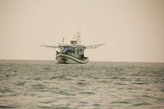 Корабль рыбной ловли Таиланда Стоковое Изображение RF