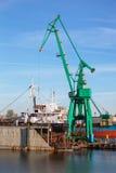 корабль стыковки сухой Стоковое Изображение RF