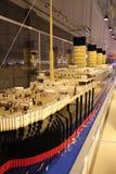 корабль титанический стоковое фото rf