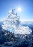 Корабль льда на зиме Baical Стоковые Фотографии RF
