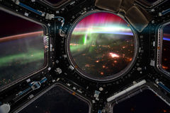 корабль Элементы этого изображения поставленные NASA иллюстрация вектора