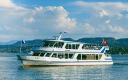 Корабль Albis на озере Цюрихе Стоковые Фотографии RF