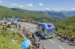 Корабль CFTC - Тур-де-Франс 2014 Стоковое фото RF