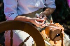 корабль handmade стоковая фотография rf
