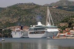 корабль luminosa круиза Косты Стоковая Фотография