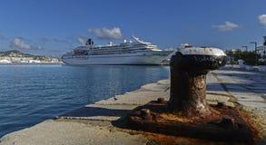 корабль luminosa круиза Косты Стоковое Фото