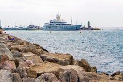 корабль luminosa круиза Косты Стоковое фото RF