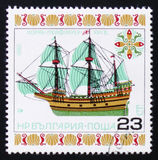 Корабль Mayflower, около 1980 стоковые изображения
