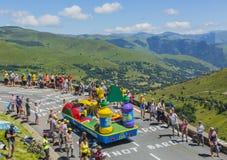 Корабль Teisseire - Тур-де-Франс 2014 Стоковые Фотографии RF
