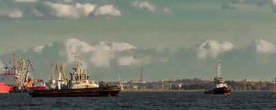 2 корабля гужа Стоковые Фото