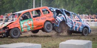 Авария Дерби подрыванием Стоковая Фотография RF