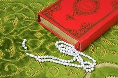 Коран, шарики розария Стоковые Изображения RF