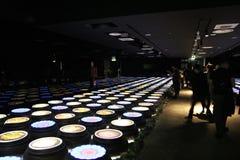 Корейская виртуальная еда Стоковое Изображение RF