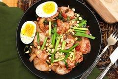 Корейская еда торта риса стоковые фотографии rf
