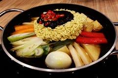 Корейская еда Стоковая Фотография