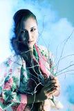 корейская женщина Стоковые Фотографии RF