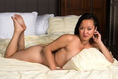 Корейская женщина Стоковая Фотография