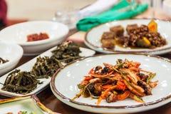Корейская здоровая еда стоковая фотография rf