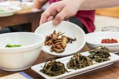 Корейская здоровая еда стоковые изображения rf