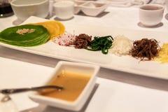 Корейская здоровая еда стоковая фотография