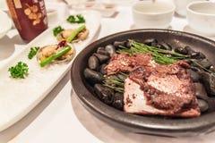 Корейская здоровая еда стоковые фото