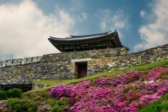 Корейская крепость стоковые фотографии rf