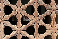Корейская традиционная картина рамки окон Стоковое Фото