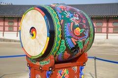 Корейский барабанчик tradional Стоковая Фотография RF