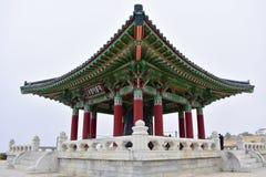 Корейский колокол приятельства Стоковая Фотография RF