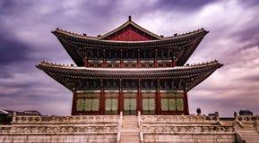 Корейский конференц-зал короля Стоковые Изображения RF
