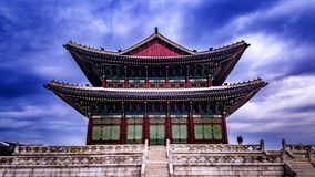 Корейский конференц-зал короля стоковое изображение
