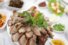 корейский свинина пряный Стоковые Фото