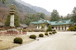 корейский северный висок Стоковое Изображение RF
