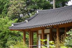 корейский тип крыши Стоковое Изображение