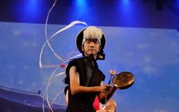 Корейский традиционный танец Стоковое Изображение RF