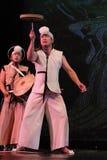 Корейский традиционный танец Стоковое фото RF