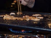 Корейский BBQ Стоковое Изображение RF