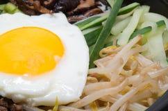 Корейский bibimbap стоковое изображение rf