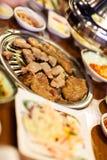 Корейское барбекю стоковые изображения
