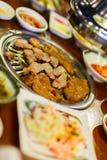 Корейское барбекю стоковое изображение rf