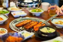 Корейское барбекю стоковая фотография rf