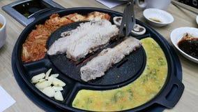 Корейское барбекю Стоковые Фотографии RF
