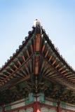 Корейское традиционное зодчество стоковые изображения