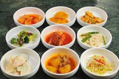 Корейское Kimchi Стоковые Фотографии RF