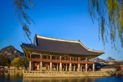 Корейское king& x27; конференц-зал s Стоковое Фото