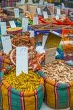 Корень имбиря в рынке Стоковые Изображения RF