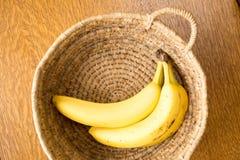 Корзина бананов Стоковые Изображения